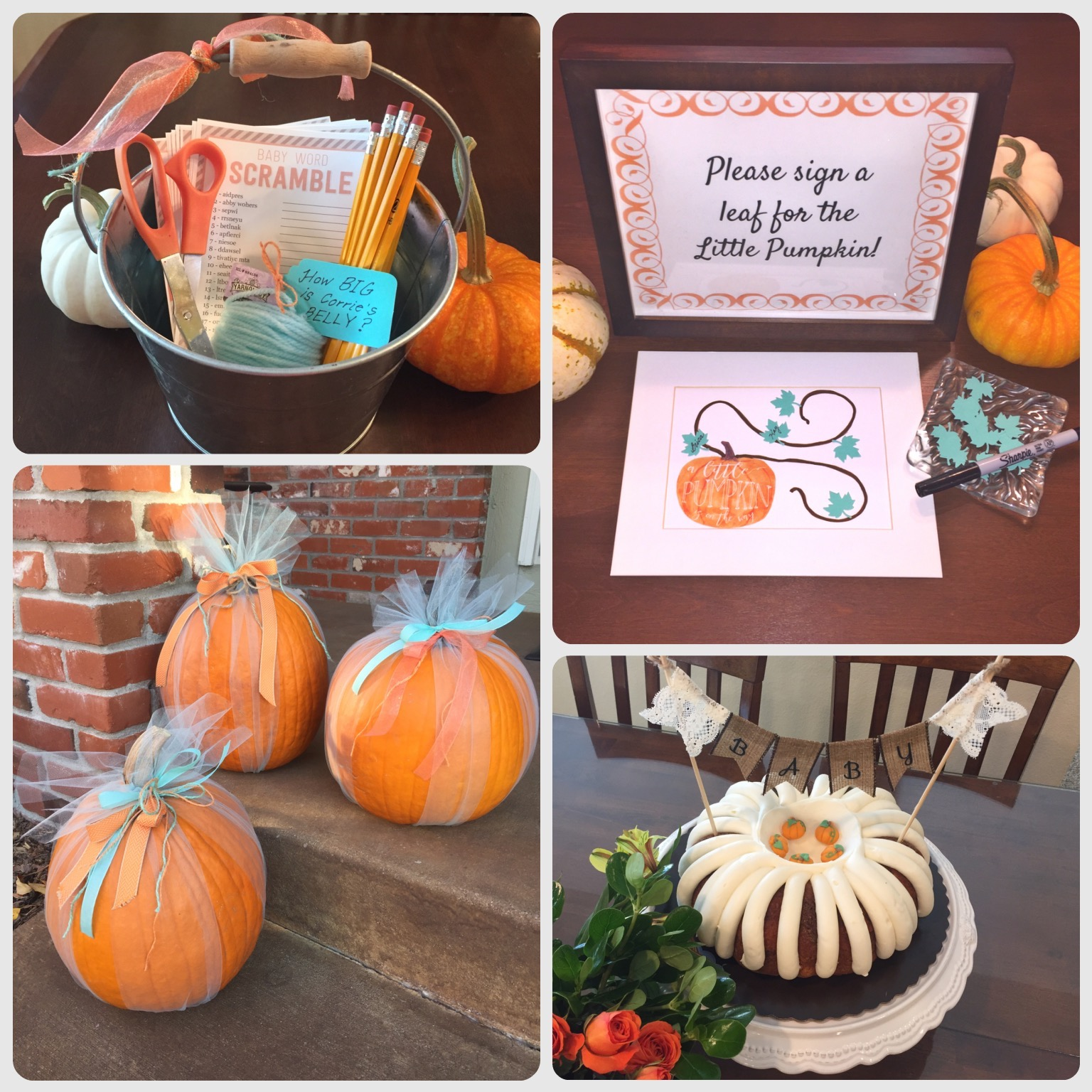 10 Fall Baby Shower Ideas