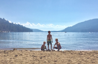 Donner Lake West End Beach Park
